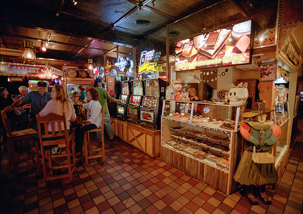 Big Texan Fudge Counter