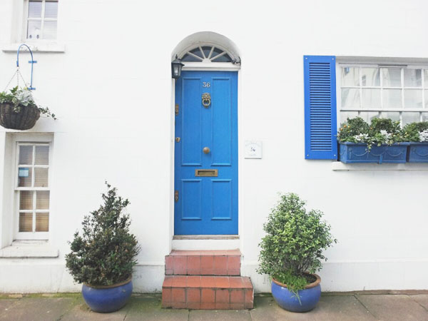 Blue Door The finest doorporn of London