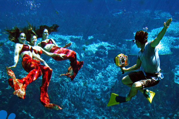 Image result for weeki wachee springs mermaid