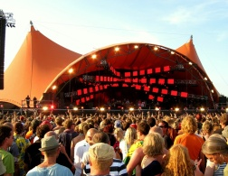 Dance with somebody: Roskilde Festival in Denmark