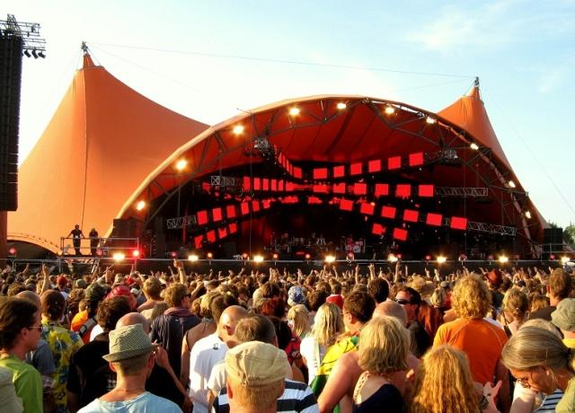 Dance with somebody: Roskilde Festival in Denmark