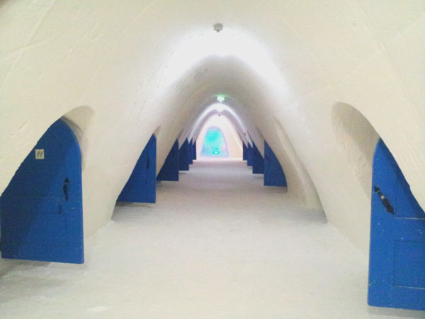 Ice Hotel Kemi Queen of the Snow Castle for a day in Kemi, Finland