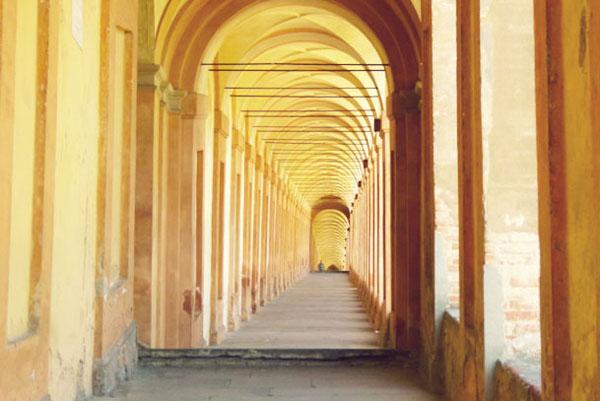 Long Portico di San Luca1 Walking the longest portico in the world in Bologna