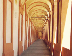 Walking the longest portico in the world in Bologna