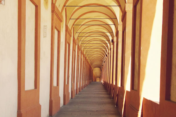 Longest portico in the world San Luca Bologna1