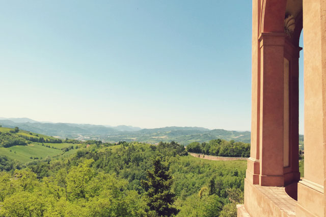 View from Sanctuary of San Luca