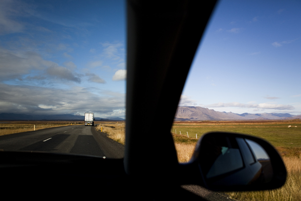 roadtripping in iceland