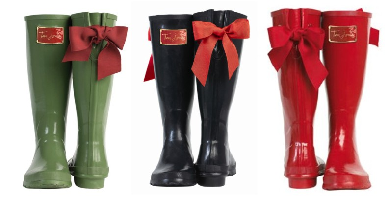 Joules_Posh_Wellies_with_bow_trio