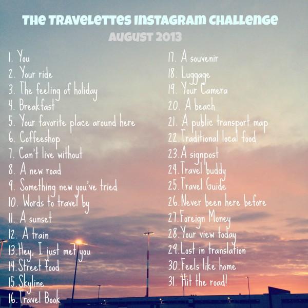 instagram challenge august 2013