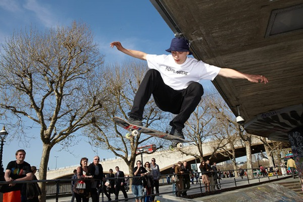 skatepark 14 ways to have fun in London for free
