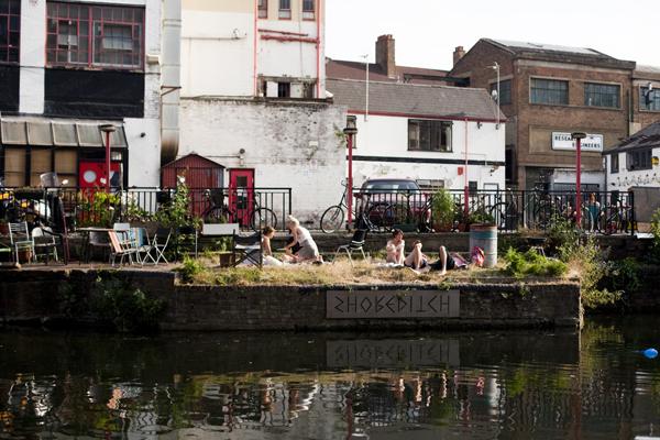 regent's canal hangout