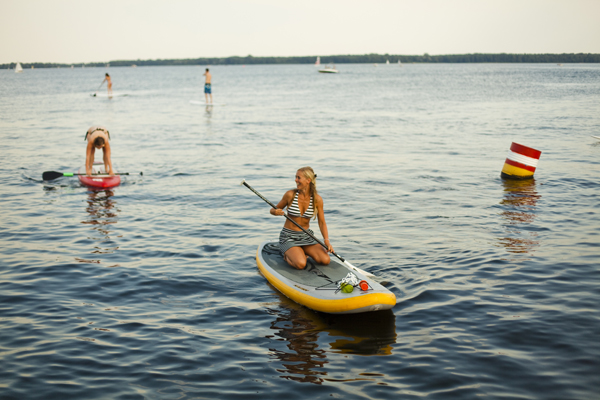 stand up paddling berlin mueggelsee