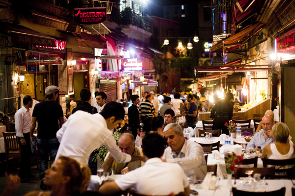 restaurant istiklal istanbul