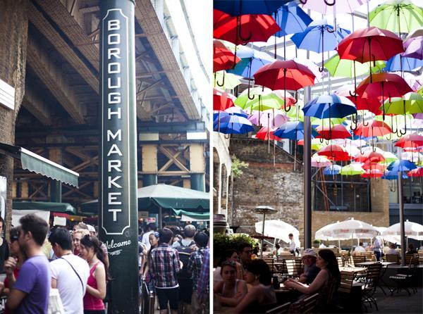 borough market umbrellas