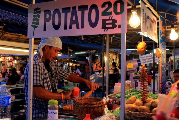 thongsala7 Foodie heaven   the Thong Sala night market