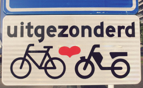 Heart Bikes Sign Rotterdam 600x367 21 Reasons to Love Rotterdam