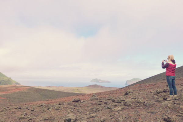 Standing on the edge of a volcano Westman Islands Iceland 600x400 2 Years as a Digital Nomad: (More) Lessons Learned