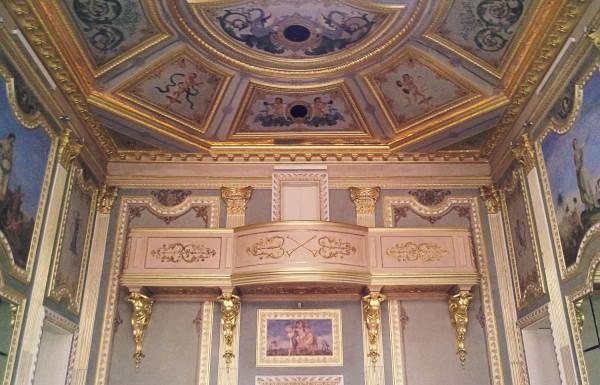 Stunning Ceiling at Palacio do Freixo, Porto