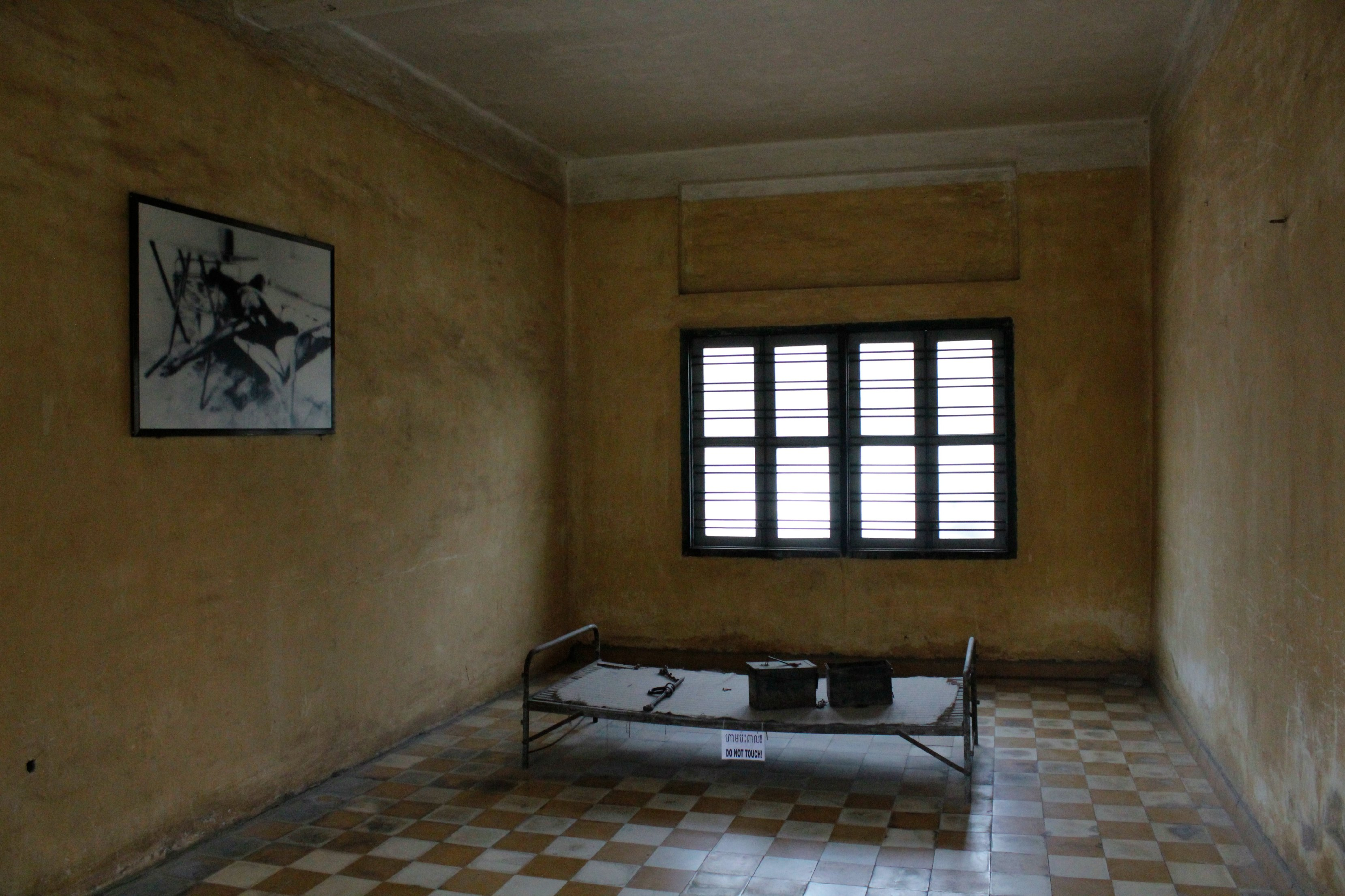 Horrible prison cells