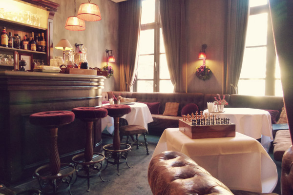 Bar Pand Hotel 600x400 Hotels We Love: The Pand Hotel in Bruges