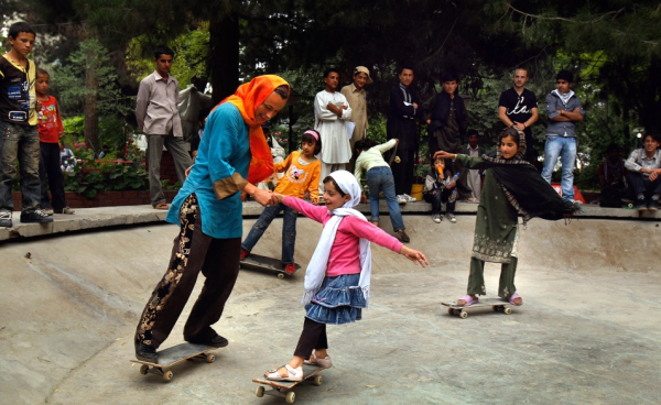 Picture 19 600x368 Skateistan   Skateboarding for Girls in Afghanistan