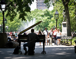 The Piano Man of New York City