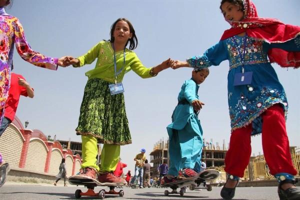 skateistan 600x400 Skateistan   Skateboarding for Girls in Afghanistan