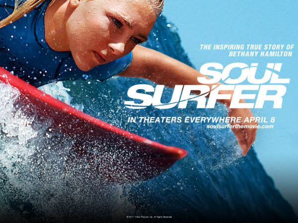 soul surfer poster 3 600x450 Bethany Hamilton  Pro Surfer with Faith