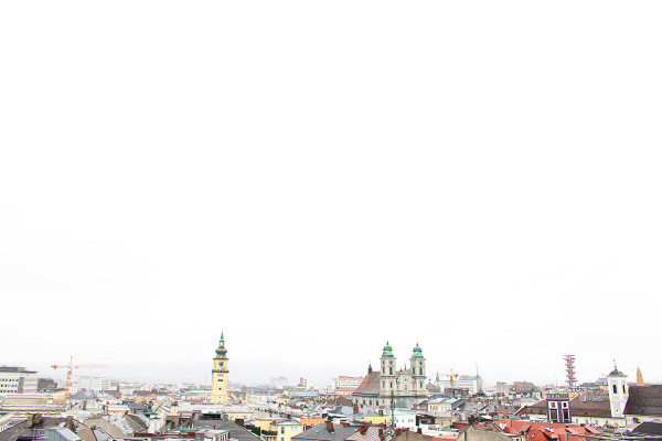 Linz Rooftops 600x400 The Travelettes Guide to Linz