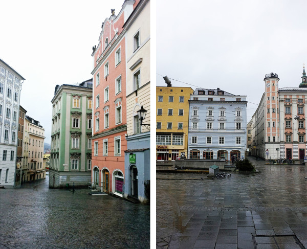 Medieval Streets in Linz