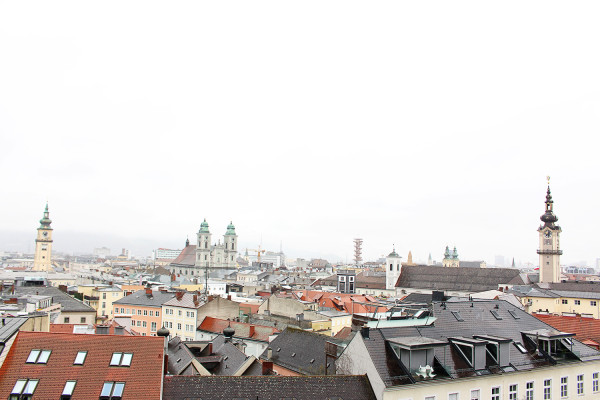 Rooftops of Linz 600x400 The Travelettes Guide to Linz