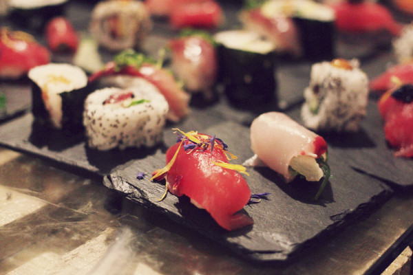 Sushi at Rota das Estrelas