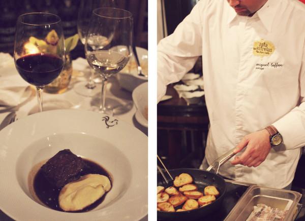 Veal and Chef Rota das Estrelas