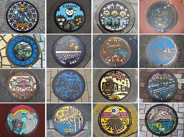 manholes 2 Drainspotting   Japans different kind of street art