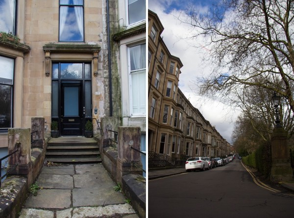 townhouses 600x446 The Travelettes Guide to Glasgow