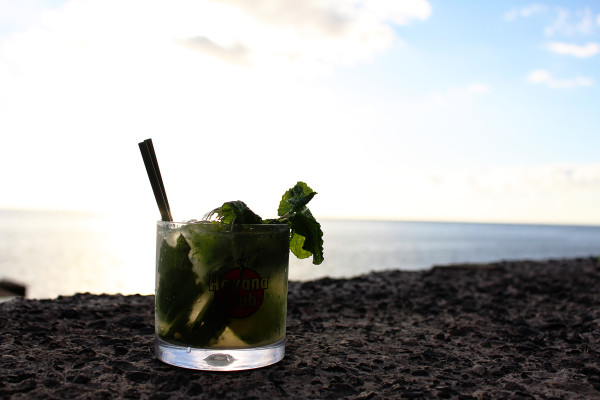 Sunset and Mojito at Maktub Madeira