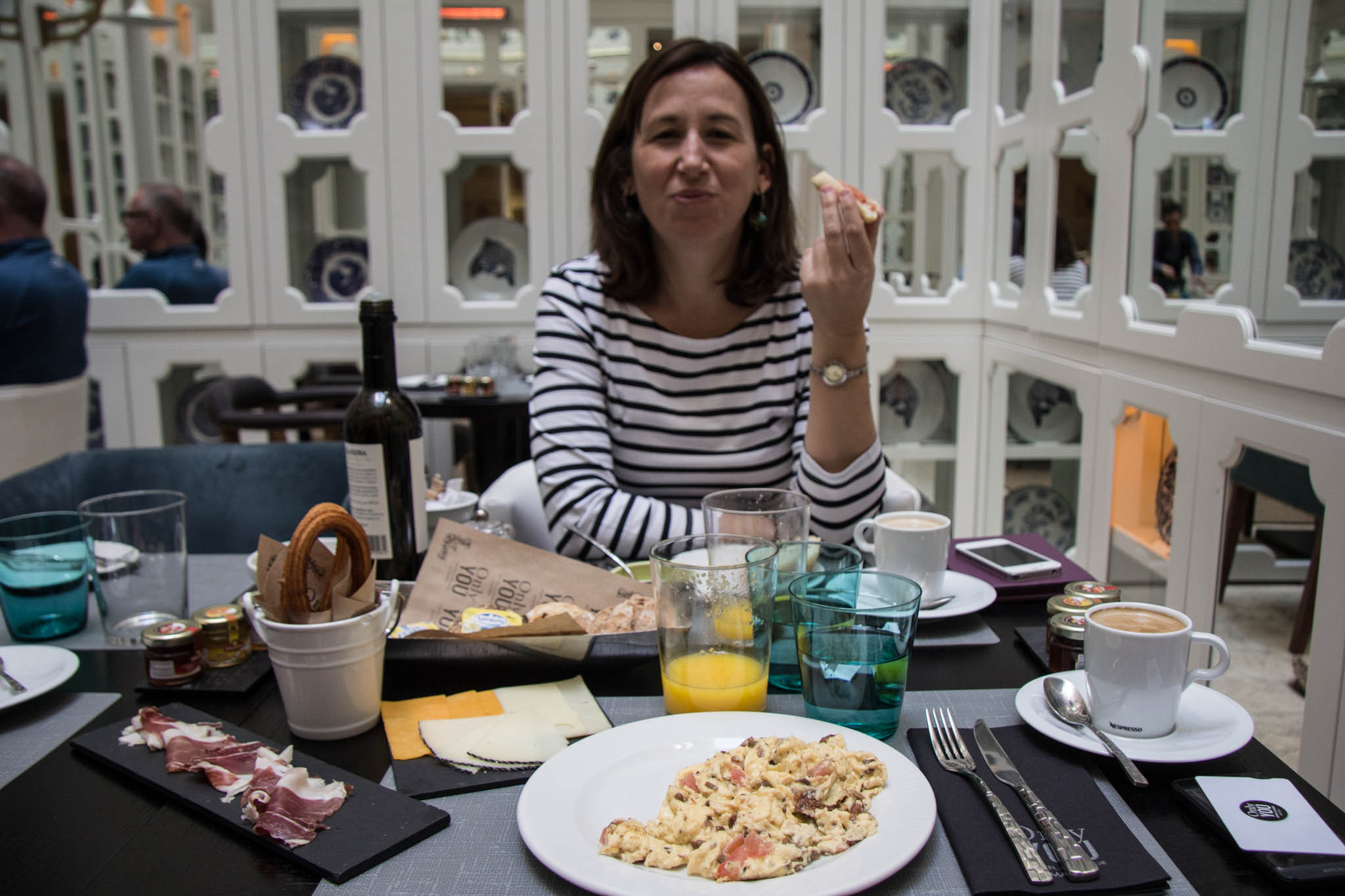 Travelettes madrid only you hotel breakfast - Hotel only you en madrid ...