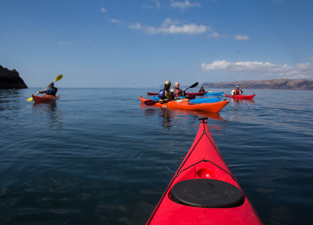 Sea Kayaking for Beginners