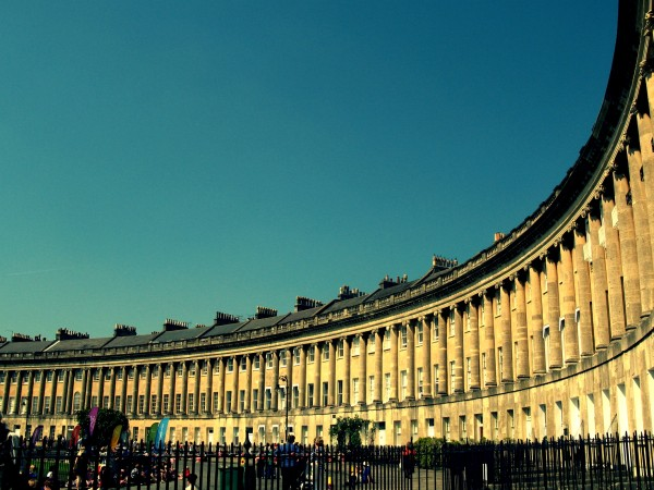 Royal Crescent 600x450 Bath: fashion & history in South West England