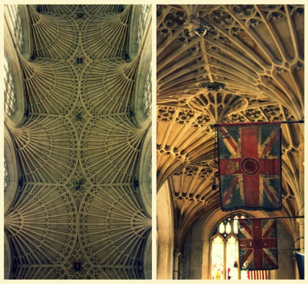 alice abbey bath ceiling 600x552 Bath: fashion & history in South West England