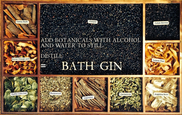 canary gin 600x380 Bath: fashion & history in South West England
