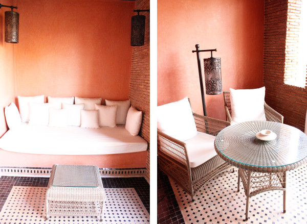 Balcony of room at Selman 600x439 Hotels We Love: The Selman, Marrakech