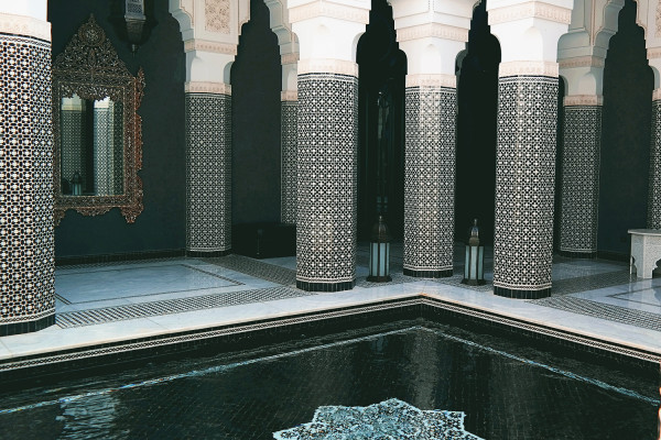 Black and White Design 600x400 Hotels We Love: The Selman, Marrakech