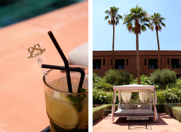 By the pool at the Selamn 600x439 Hotels We Love: The Selman, Marrakech