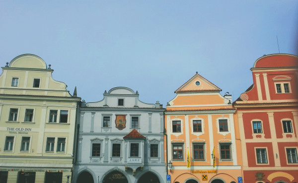 Cesky Krumlov Houses