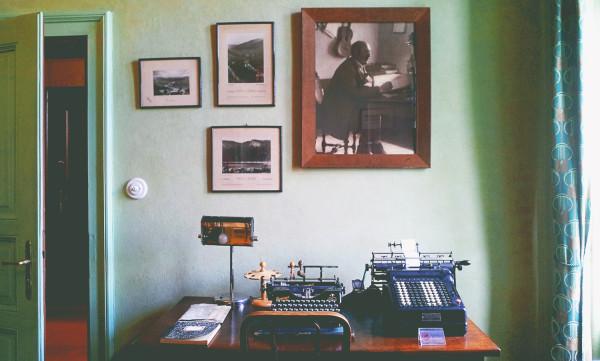 Fotoatelier Seidel Typewriter