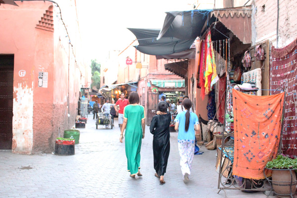 Girls in the Medina 600x400 Hotels We Love: The Selman, Marrakech