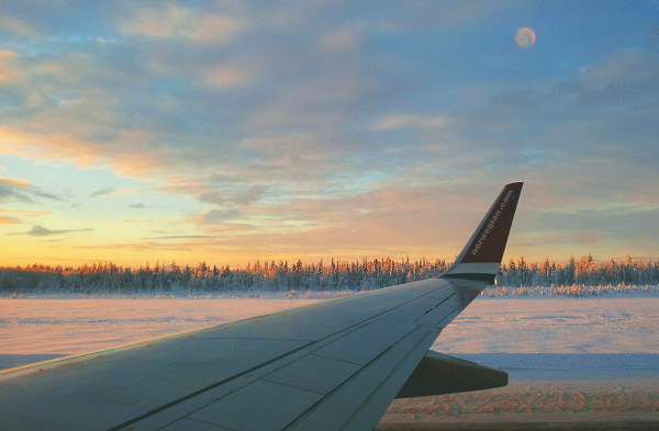 Norwegian Air in Lapland