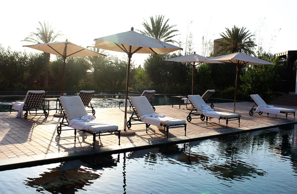 The Spa Pool at Selman Marrakech 600x392 Hotels We Love: The Selman, Marrakech