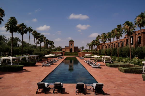 View of Selman pool 600x400 Hotels We Love: The Selman, Marrakech